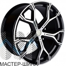 Zumbo Wheels F2100 10.5x22/5x112 D66.6 ET43 Black/machine face
